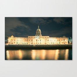 The Custom House Dublin Canvas Print