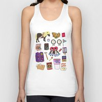 parks Tank Tops featuring Parks & Recreation  by Shanti Draws