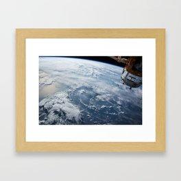 NASA Earth Print Framed Art Print