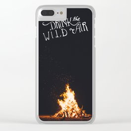 Drink That Wild Air Clear iPhone Case