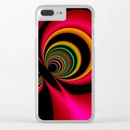 vice versa -2b- Clear iPhone Case