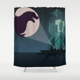 Payback Time  2014 godzilla  Shower Curtain
