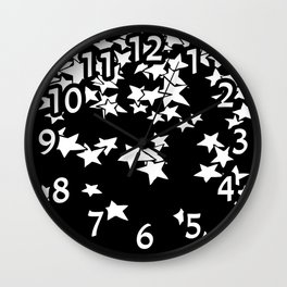 Stars are Endless Wall Clock