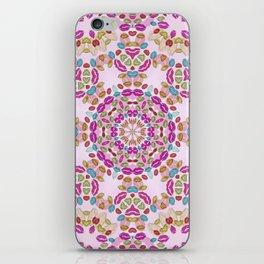 Love and Kisses Mandala iPhone Skin