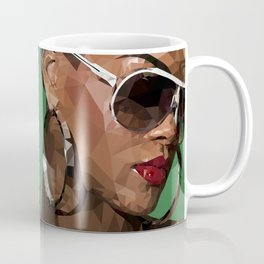 Rihanna in Shade Coffee Mug