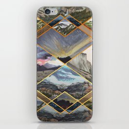 Diamond Mountains iPhone Skin