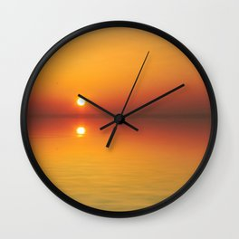 The only sunset Wall Clock
