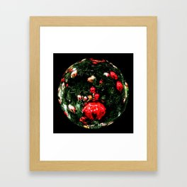 A World of Christmas Framed Art Print