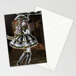 Hufflepuff Halloween Witch Stationery Cards