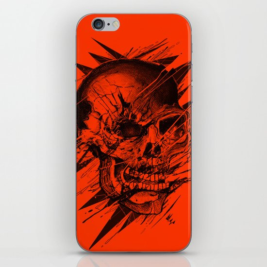 Skull's Not Dead iPhone & iPod Skin