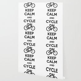 Keep Calm and Cycle On Wallpaper