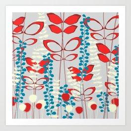 The Wildflowers Art Print
