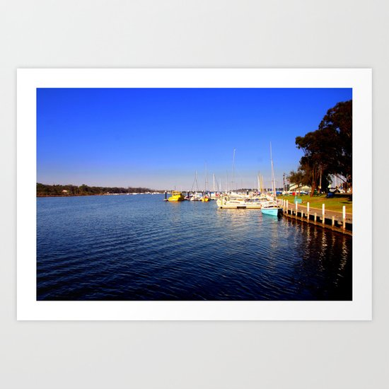 Thompson River - Paynesville - Australia Art Print