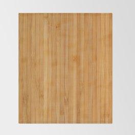 Bamboo pattern Throw Blanket