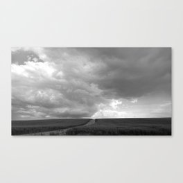 Supercell Thunderstorm, Montana 2013 Canvas Print