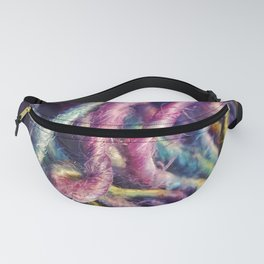 Rainbow strands Fanny Pack