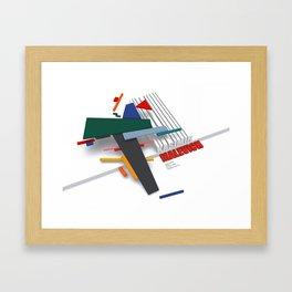 Malevich 3D Framed Art Print