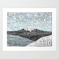 'JaPow' by Sarah King  Art Print