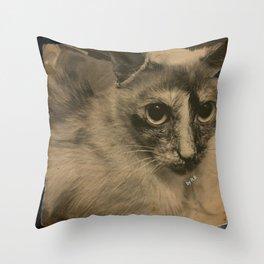 Misa I Throw Pillow