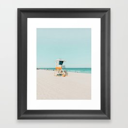 Aussie lifeguard Framed Art Print