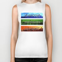 divergent Biker Tanks featuring Divergent by All Things M