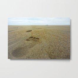 Footsteps Metal Print