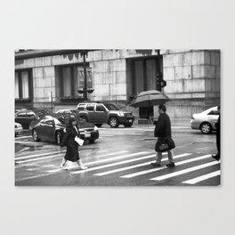 Street Zombies Canvas Print