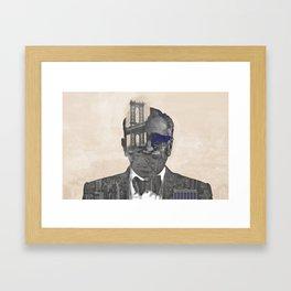 Marty NYC Framed Art Print