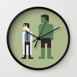The Incredible Hulk 8-Bit Wall Clock