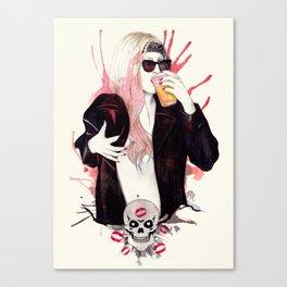 Heavy Metal Lover Canvas Print