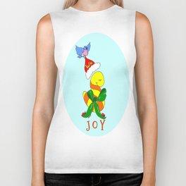"""Joy"" Biker Tank"