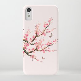 Pink Cherry Blossom Dream iPhone Case