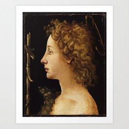 ITALIAN ART PRINT Art Print