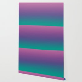 Ombre Ultra Violet Green Pattern | Trendy colors of the year 2018 Wallpaper