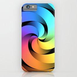 Spiraling Spirals iPhone Case