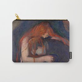 Love and Pain by Edvard Munch Carry-All Pouch