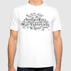 My Name MEDIUM White Mens Fitted Tee