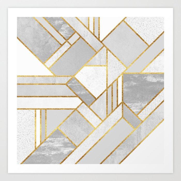 Gold City Kunstdrucke