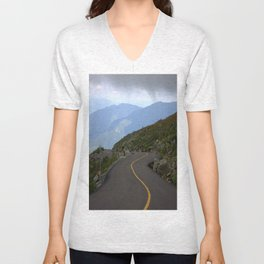 Exhileration Lies ahead Unisex V-Neck