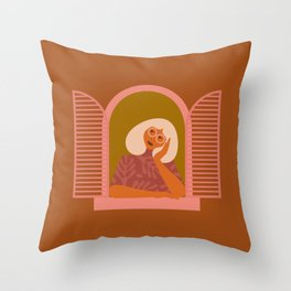 The Daydreamer Throw Pillow