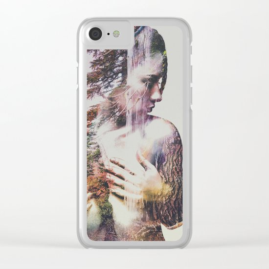 Wilderness Heart III Clear iPhone Case
