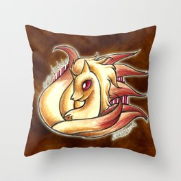 38-ninetales Throw Pillow