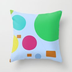 The festival Throw Pillow