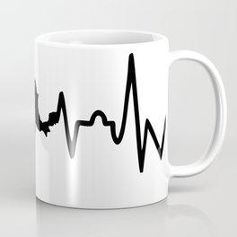 mexican heartbeat,map Coffee Mug