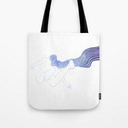Water Nymph LV Tote Bag