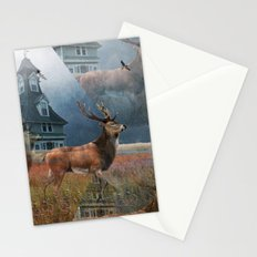 Illusion Stag Stationery Cards