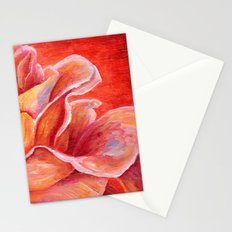 Rose Flower Bud Stationery Cards