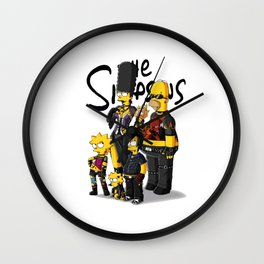 rock band simpson Wall Clock