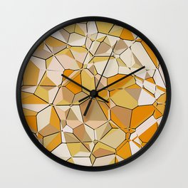 Jumbled Geo Fun 03 Wall Clock