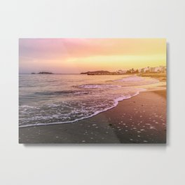 Peaceful Paradise Metal Print